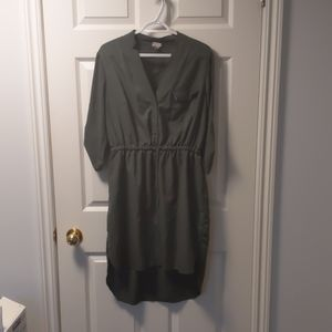 XXL Merona sage green drawstring dress 20$